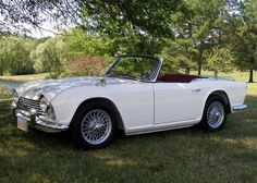 Vintage 1964 Triumph TR4 Maintenance/restoration of old/vintage vehicles: the material for new cogs/casters/gears/pads could be cast polyamide which I (Cast polyamide) can produce. My contact: tatjana.alic14@gmail.com