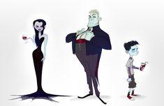 Vampires brittanymyersart.tumblr.com/ @brittmyersart