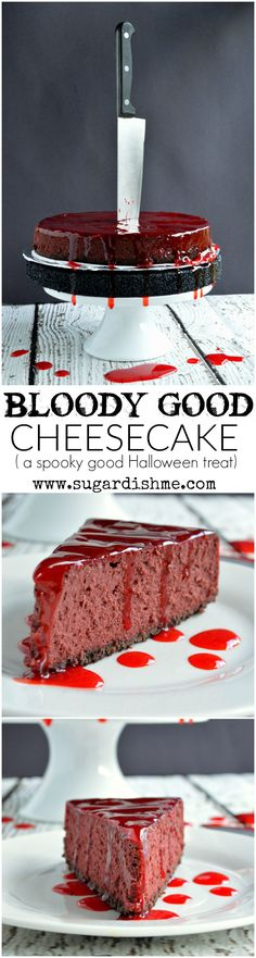 This Bloody Good Cheesecake Recipe is the spookiest Halloween treat that is…