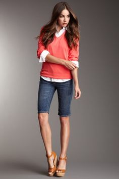 b75ba4a839 45 Best Bermuda SHORTS images in 2019 | Short outfits, Bermuda ...