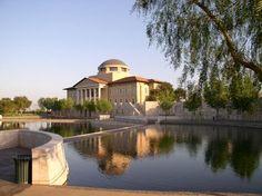 Aliso Viejo, Calif., home to the picturesque Soka University.