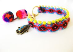 Summer in Thailand   Boho Hippie #FriendshipBracelet by Savi, $19.00