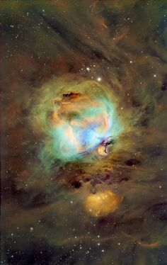 Great Orion Nebula, M42, Hubble Palette Credit: NASA/Hubble, Eric Coles AstroBin