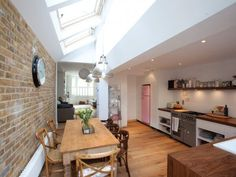 Soundhouse create beautiful bespoke loft conversions, plus a wide range of other building projects, in Brighton, Hove and beyond. - The Luxury Mindset For Success Kitchen Diner Extension, Open Plan Kitchen, Kitchen Extension Small House, Kitchen Extension Victorian Terrace, Kitchen Extension Side Return, Victorian Terrace Interior, Victorian Kitchen, Victorian Homes, Edwardian House