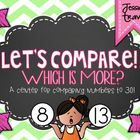 This FREE center will be perfect to use during your unit on comparing numbers, . Kindergarten Freebies, Numbers Kindergarten, Math Numbers, Kindergarten Centers, Math Stations, Math Centers, Math Resources, Math Activities, Fun Math
