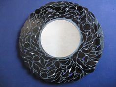 Black Narcissus Mosaic Mirror by GalleryManouche on Etsy, £125.00