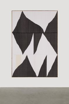 Brent Wadden - TBT, 2014  handwoven fibers, wool, cotton and acrylic on canvas  272,3 x 187,8 x 4,4 cm