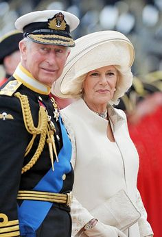Prince Charles & Camilla Bowles, Duchess of Cornwall at The Queen's Diamond