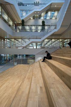 Galería de Universidad Erasmus Rotterdam / Paul de Ruiter Architects - 18
