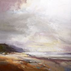 David Atkins: Just After Rain, Charmouth, Dorset Campden Gallery, fine art, Chipping Campden, camden gallery, contemporary, contemporary arts, contemporary art, artists, painting, sculpture, abstract painting, gloucestershire,  cotswolds, painting for sale, artwork for sale, modern art gallery, art exhibitions,arts gallery, gallery art, art gallery UK