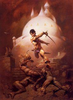 Frazetta - John Carter of Mars