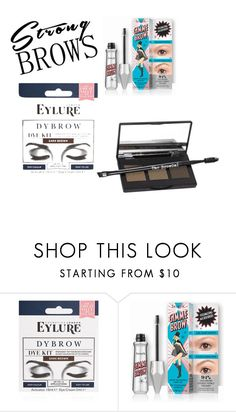 """Untitled #14"" by haleigh8899 ❤ liked on Polyvore featuring beauty, eylure and The BrowGal"