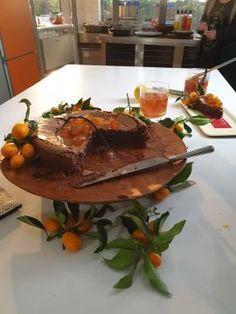 Υγρή τούρτα - κέικ σοκολάτας με κουμκουάτ Pudding, Beef, Desserts, Food, Meat, Tailgate Desserts, Deserts, Custard Pudding, Essen