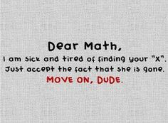 Matematik ve X üzerine güzel bir tespit...