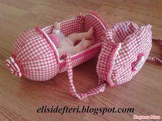 Делаем детскую кроватку-сумку для куклы и сумочку из пластиковой бутылки. - Страна Мам