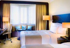 """Hospédate cómo un ejecutivo en el """"Executive Floor"""" del Heidelberg Marriott Hotel con accesso exclusivo al salón de negocios. #Alemania"""