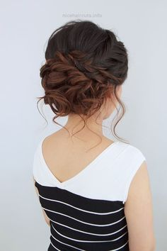 wedding updo hairstyle… wedding updo hairstyle http://www.nicehaircuts.info/2017/05/22/wedding-updo-hairstyle-2/