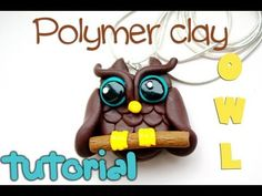 Polymer clay owl TUTORIAL
