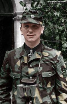 Kurt Meyer in Normandy as commander of Panzer-Grenadier Regiment 25 in 1944