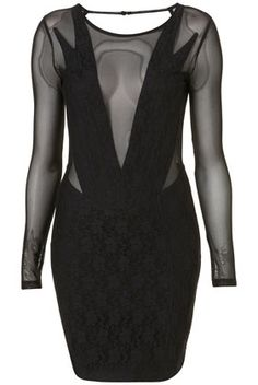 Lace Bodycon Dress By Dress Up Topshop** - New In This Week - New In - Topshop USA - StyleSays