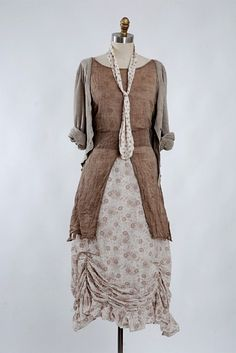Love the palette, the mix of styles. This is one of my favs. I could many of these skirts in various colors.
