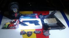 Foto: PMDF/internet/reprodução.     Um homem foi preso por porte ilegal de arma de fogo de uso res...