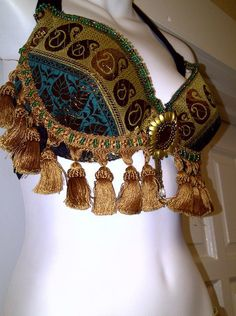 Magical Fashions fringe trim on the bra, unusual but could work