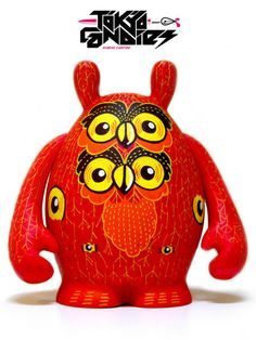 RED OWL Custom Vinyl Toy
