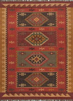 Shop the Amman Rug - Color: Zinfandel, Wood Thrush; Size: x by Jaipur. Made from Jute in India. This Hand Made Zinfandel, Wood Thrush rug has a pile_height, perfect for a soft yet durable addition to your home. Rustic Area Rugs, Amarillis, Jaipur Rugs, Natural Fiber Rugs, Yellow Area Rugs, Yellow Rug, Red Rugs, Tribal Rug, Woven Rug