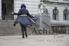 The Achillea Coat - Free Sewing Pattern - Mood Sewciety