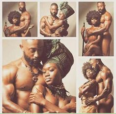 Black Love, King and Queen, United Black Art Pictures, Couple Pictures, Pelo Natural, Black Artwork, Black Families, Black Couples, Black Pride, Afro Art, My Black Is Beautiful