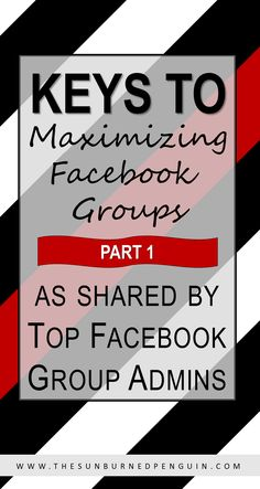 Promo Days: Keys to Maximizing Facebook Groups (as shared by Top Facebook Group Admins) - Part One