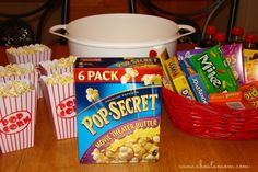 Pop Secret Movie Night--not just a movie but make it a night!!