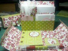 Bella rose stationary box ensemble