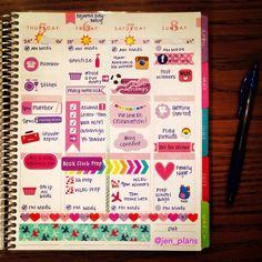 Love this @erincondren weekly spread! So many FUNctional stickers! #ErinCondren https://www.erincondren.com/referral/invite/brittanysheets