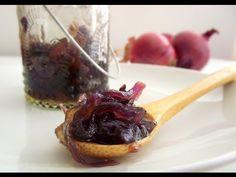 Marmellata di cipolle rosse FATTA IN CASA,Ricetta light - YouTube