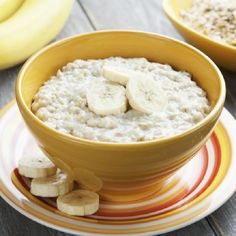 Banana oatmeal Recipe and Nutrition - Eat This Much Banana Oatmeal Recipe, Coconut Oatmeal, Superfood, Vegan Coconut Cake, Oatmeal Porridge, Baby Dishes, Diabetic Snacks, Cooking Recipes, Healthy Recipes