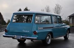 1968 International Travelall 1000 Station Wagon For Sale Rear