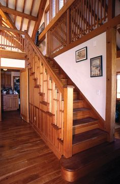 Best Live Edge Hickory Railing Found In A New York Home Live 400 x 300
