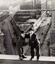 Vintage Photography // Laurel and Hardy //