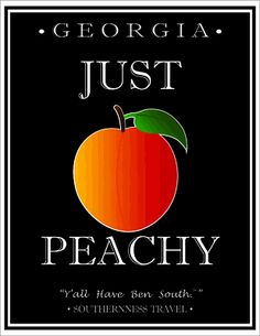JUST PEACHY Georgia #itravel2000 #DiscoverAmerica