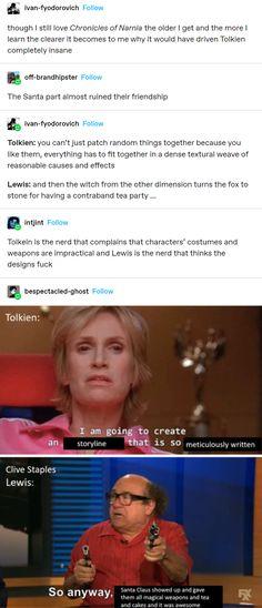 Stupid Funny, Hilarious, Tumblr Funny, Funny Memes, O Hobbit, Chronicles Of Narnia, Cs Lewis, Book Memes, The Villain