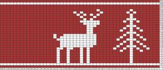Tricksy Knitter Charts: Christmas Reindeer and Tree by gbongc