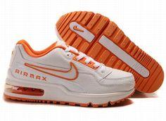 sale retailer da1e8 52ef7 Nike Air Max Ltd White-orange 316391 017 Nike Tn Air, Nike Air Max