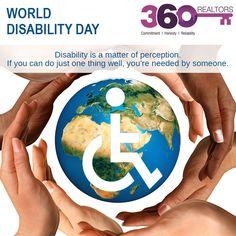 #worlddisabilityday