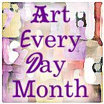 I came across another challenge from a fellow blogger, Art Every Day in November. I signed up! The rules are pretty relaxed. You can create a piece every day for the month, week, or one for the mon...