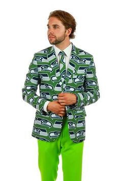 The Seattle Seahawks Suit Jacket - Shinesty