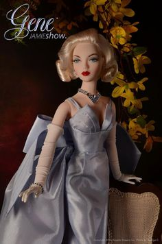 """Mel Odom unveils a new Gene Marshall doll named Phoenix at IDEX 2013. She is a 16"""" ball-jointed resin doll and is a collaborative effort designed by Mel Odom and JAMIEshow."""