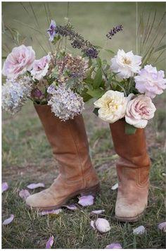 le bonheur est dans les bottes....
