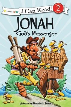 Jonah, God's Messenger: Biblical Values (I Can Read! / Dennis Jones Series) by Dennis Jones,http://www.amazon.com/dp/031071835X/ref=cm_sw_r_pi_dp_oS5dtb16GF7WJN98